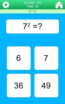 Juegos de Matemáticas captura de pantalla 19