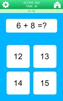 Juegos de Matemáticas captura de pantalla 1