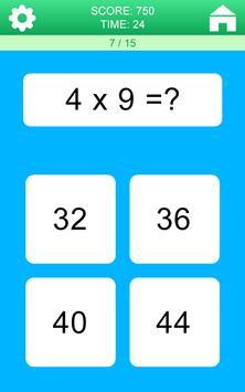 Juegos de Matemáticas captura de pantalla 2