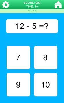 Juegos de Matemáticas captura de pantalla 3