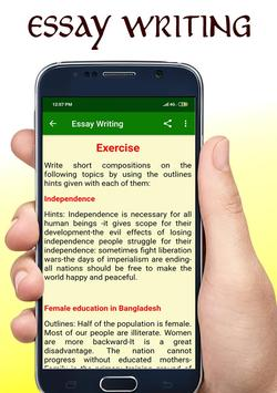 Essay Writing App 📖 screenshot 3