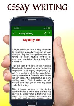 Essay Writing App 📖 screenshot 1