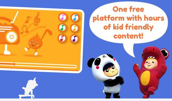 TV Kids Flix: episódios e vídeos para crianças imagem de tela 7