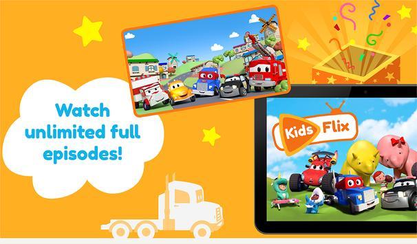 TV Kids Flix: episódios e vídeos para crianças Cartaz