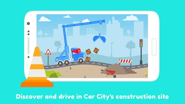 Carl The Super Truck Roadworks Dig Drill Build For Android Apk