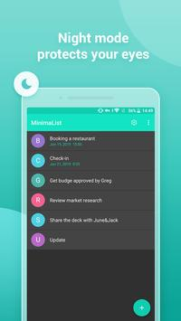MinimaList - ToDo, Tasks, Checklist Reminder screenshot 3