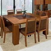 minimalist dining table design icon