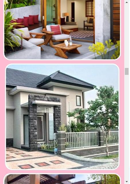 Diseño De La Terraza De La Casa Minimalista For Android