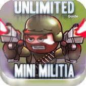 Unlimited Mini Guide For Militia 3 Doodle Mode icon