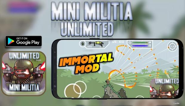 Unlimited Mini Guide For Militia 3 Doodle Mode poster
