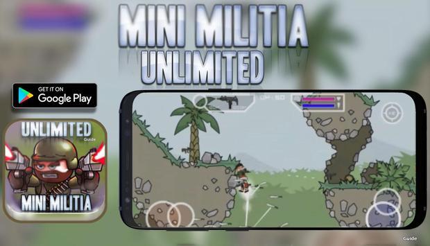 Unlimited Mini Guide For Militia 3 Doodle Mode screenshot 1