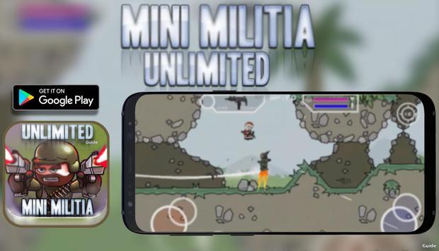 Unlimited Mini Guide For Militia 3 Doodle Mode screenshot 2