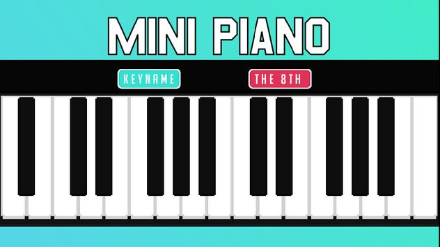 Mini Piano poster