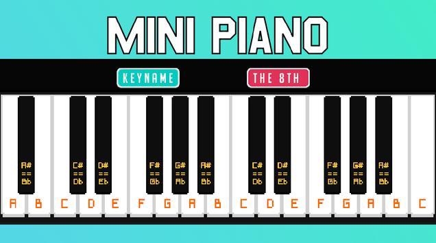 Mini Piano screenshot 1