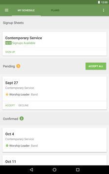 Planning Center Services screenshot 10