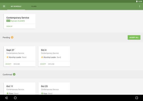 Planning Center Services screenshot 5