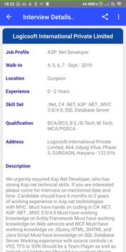 Daily Walkins - IT jobs for developers & freshers screenshot 3