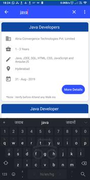 Daily Walkins - IT jobs for developers & freshers screenshot 4