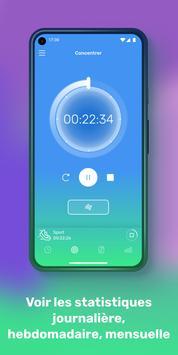 Chronometre, concentration, objectif et habitude capture d'écran 1