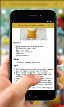 Resep Aneka Minuman Mangga screenshot 3