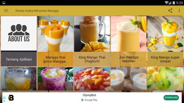 Resep Aneka Minuman Mangga screenshot 11