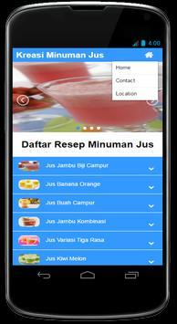 Kreasi Resep Minuman Jus Segar screenshot 3