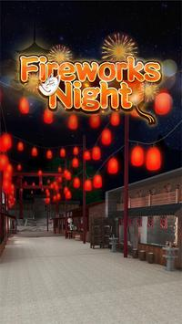 escape room:Fireworks night poster