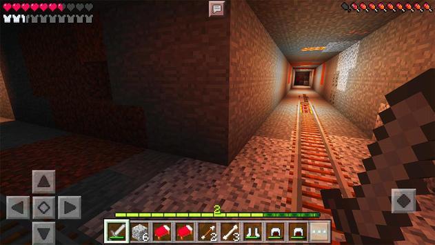 Horror MCPE Map Evil Dungeon screenshot 1