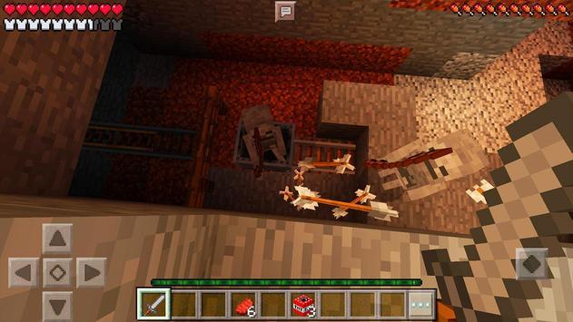 Horror MCPE Map Evil Dungeon screenshot 6