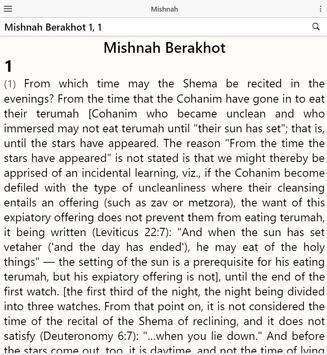 Mishnah screenshot 8