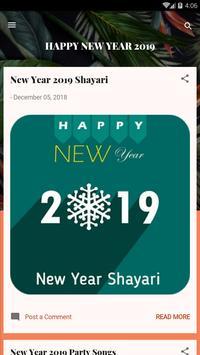 Create New Year Wish poster