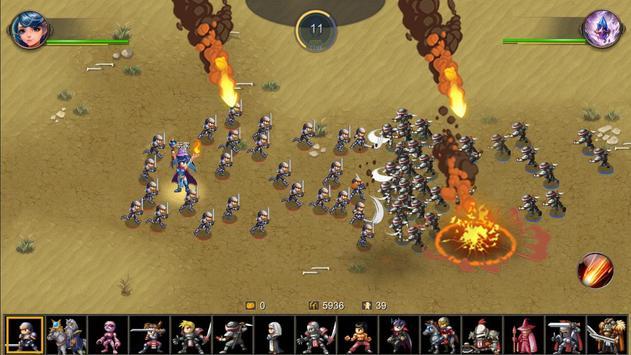 Miragine War スクリーンショット 3