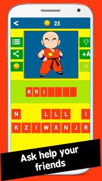 Dbz Quiz Game screenshot 2
