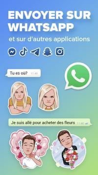Mirror, le clavier d'emojis. Créer pour WhatsApp capture d'écran 6