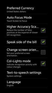 Blind-Droid Wallet — CNY screenshot 3
