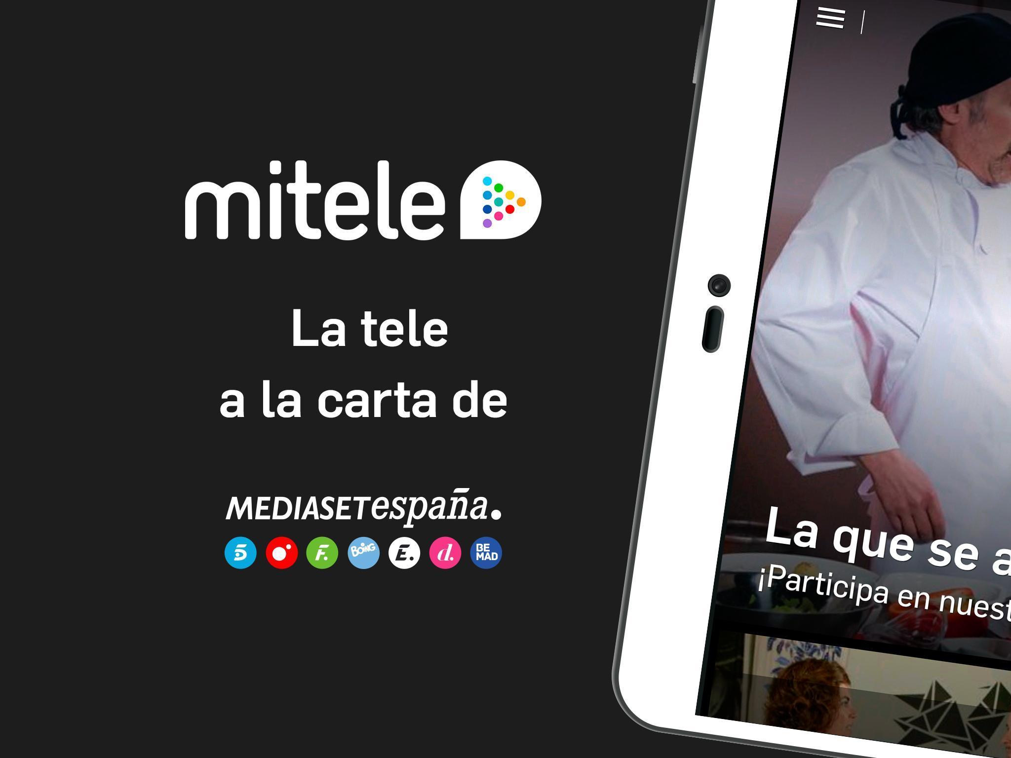 Mitele - Mediaset Spain VOD TV for Android - APK Download