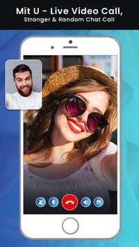 Mit U - Live Video Call, Stranger & Random Chat poster