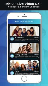 Mit U - Live Video Call, Stranger & Random Chat screenshot 1