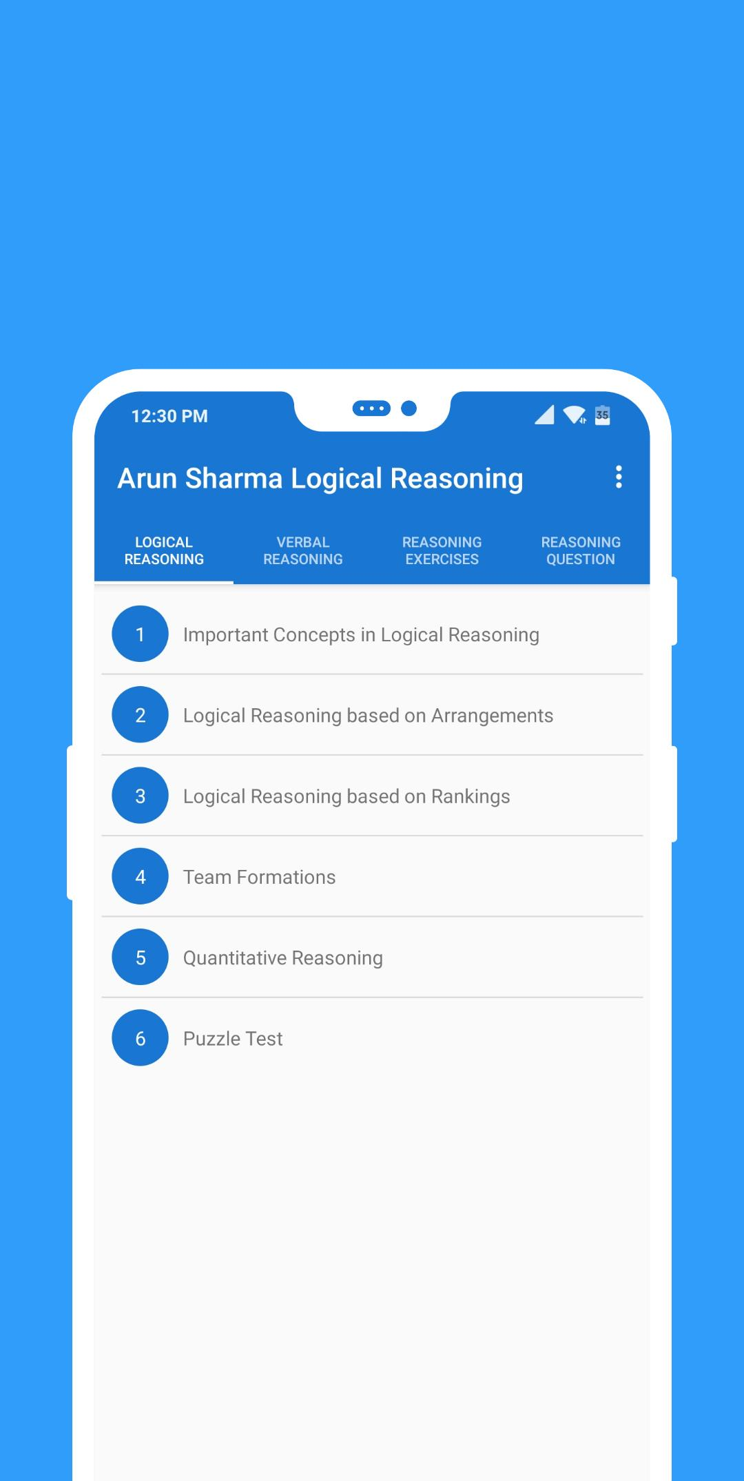 Arun Sharma Logical Reasoning for CAT for Android - APK Download