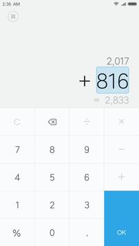 Mi Calculator screenshot 1
