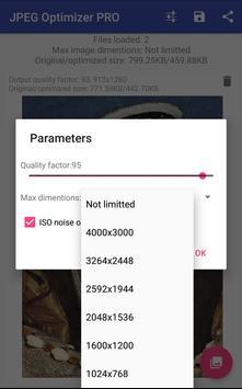 JPEG Optimizer PRO screenshot 2
