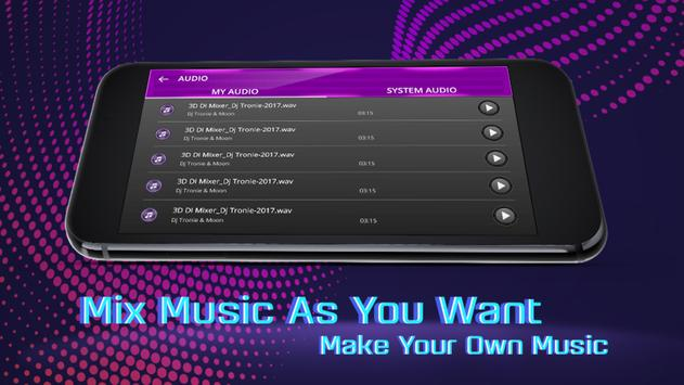3D DJ Mixer screenshot 3