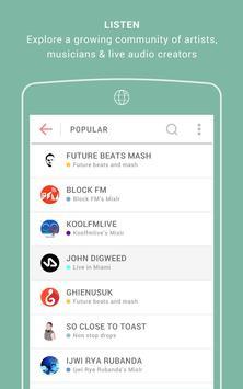 Mixlr screenshot 3