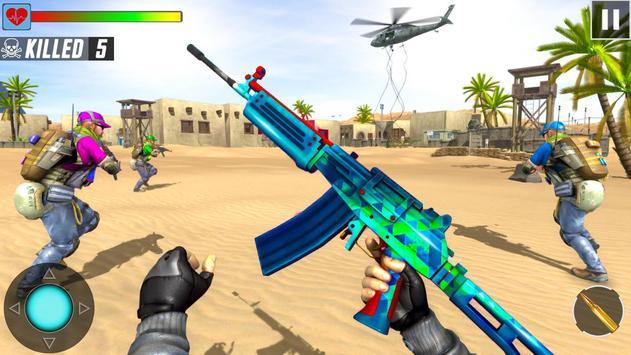 Fps Shooting Strike - Counter Terrorist Game 2019 screenshot 8