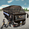 Police Bus Driving Game 3D icon