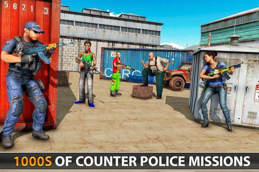 Police Counter Terrorist Shooting - FPS Strike War screenshot 5