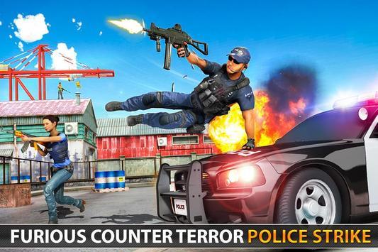 Police Counter Terrorist Shooting - FPS Strike War screenshot 6