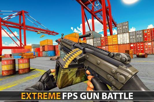 Police Counter Terrorist Shooting - FPS Strike War poster