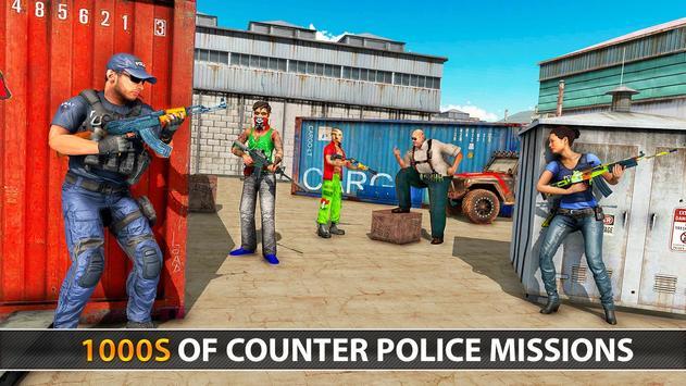 Police Counter Terrorist Shooting - FPS Strike War screenshot 13