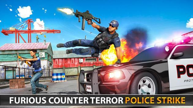 Police Counter Terrorist Shooting - FPS Strike War screenshot 23